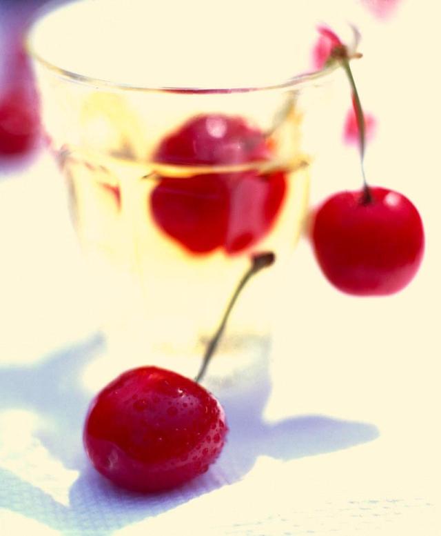 Cherries in glass copy